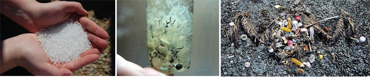 Nurdles, Before - During - After (phots from flickr)